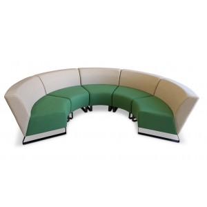 Grandi Curved Chair