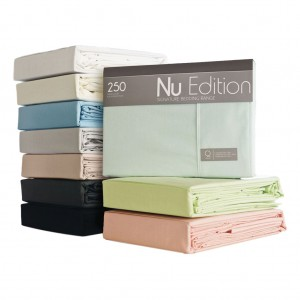 Nu Edition Poly/Cotton Flat Sheet - KSB