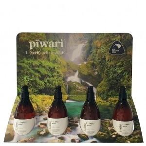 Piwari 300ml Shampoo Pump Bottle