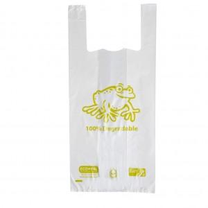 Singlet Bags Bio. Large White (500)
