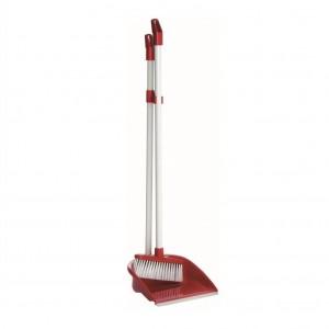 Raven Fold Away Upright Dustpan & Brush set 1