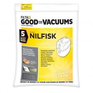 Nilfisk C011 Vac Bags 5pk