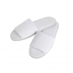 Terry Towelling Open Toe Slipper 100