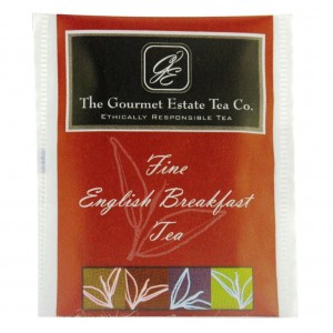 Gourmet Estate English Breakfast Envelope Tea 1000