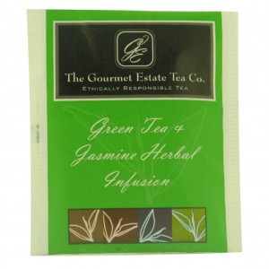 Gourmet Estate Green & Jasmine Envelope Tea 100