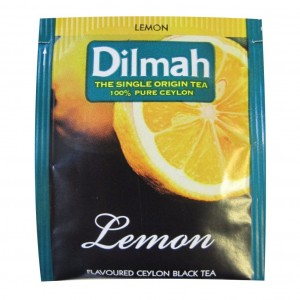 Dilmah Lemon Envelope Tea 100