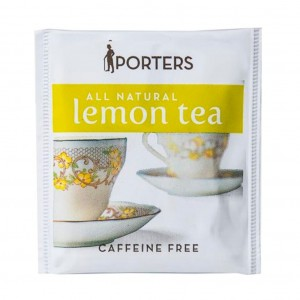Porters Lemon Envelope Tea 100