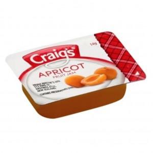 Craigs Apricot Jam PCU Tray 75