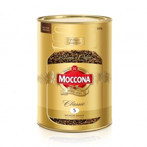 Moccona Classic Medium 500gm Tin