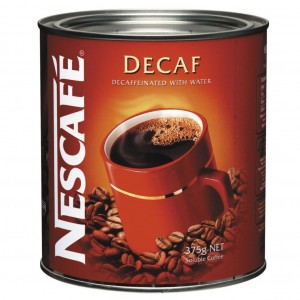 Nescafe Decaf Instant Coffee 375gm Tin
