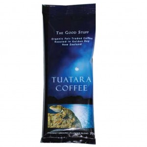 Tuatara Plunger Coffee 20gm Sachet (100)