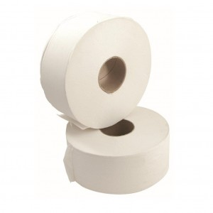 EcoGEM Jumbo Toilet Rolls Recycled 300m 2 Ply