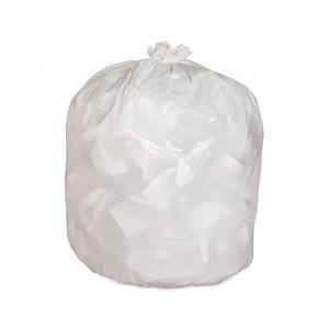 60L White Garbage Sacks 340x290x900 50