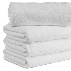 Millennium White Bath Towel 490gm 70x135