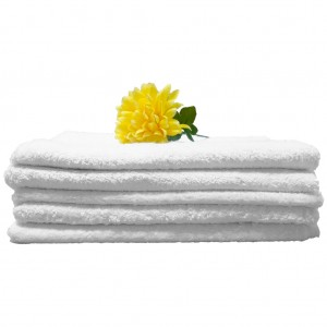 Regent White Bath Towel 450gm 68x134cm