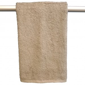 Lodge Linen Mocha Hand Towel
