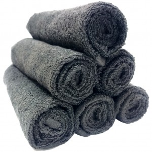 Lodge Linen Graphite Face Cloths