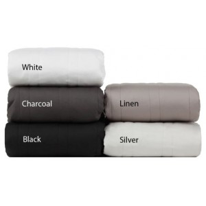 100% Cotton Padded Valance - Long Double