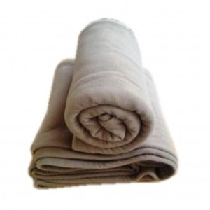 Blanket Polar Fleece 350gsm Camel 165 x 225cm Single