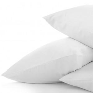 Pillowslip White PolyCotton 51x76+15cm