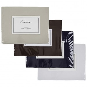 Bedmates Poly/Cotton 180TC Pillowcase