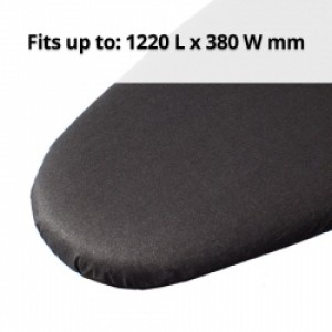 Metallic Blk Iron Board Cover 122 x 38cm
