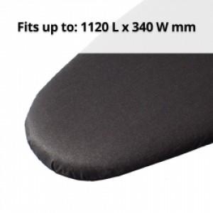 Metallic Blk Iron Board Cover 112 x 34cm