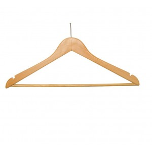 Coat Hanger Male Trouser Rail Pilfer Hanger 100