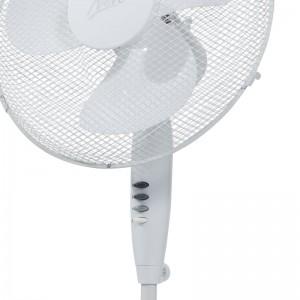 Nero 40cm White Pedestal Fan