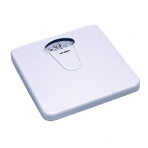Propert Mechanical Bathroom Scales White