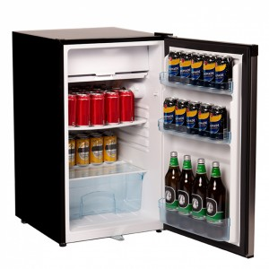 Nero 125L Stainless Steel Fridge Freezer