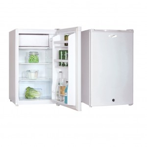 Nero 115L Bar Fridge & Freezer White