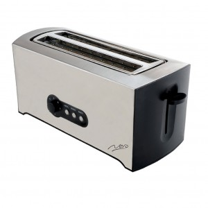 Nero 4 Slice Toaster Stainless