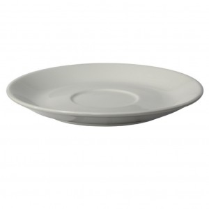 Connoisseur White Porcelain Saucer For Stackable Cup 145mm