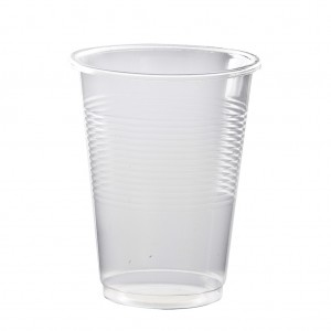 Water Cups Clear Plastic 200ml 1000