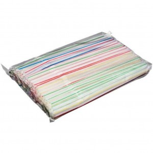 Straight Straw 6x203mm Pinstripe 10000