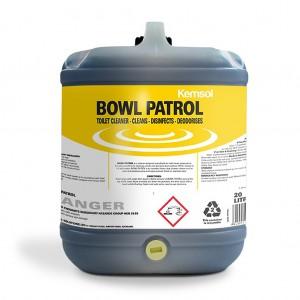 Kemsol Bowl Patrol Toilet Cleaner 20l