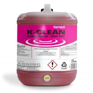 Kemsol K Clean Concentrated Cleaner Sanitiser 20L