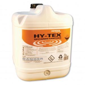 Kemsol Hy Tex Destainer Sanitiser 20L