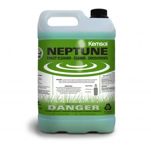 Kemsol GREEN Neptune Toilet Bowl Cleaner 5L