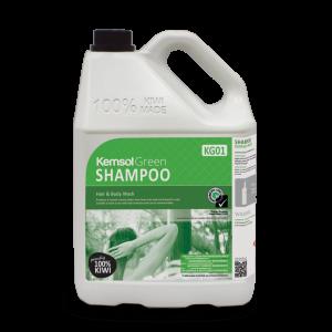 Kemsol Hair & Body Shampoo Green 5L