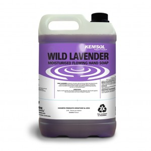 Kemsol Wild Lavender Flowing Hand Soap 5L