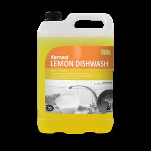 Kemsol Lemon Hand Dishwash Detergent 5L