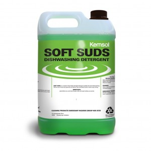 Kemsol Soft Suds Hand Dishwash Detergent 5L