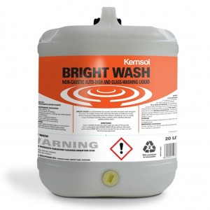 Kemsol Bright Wash Dish & Glass Wash Liquid 20L