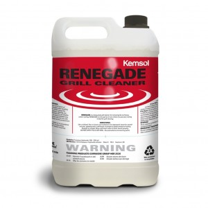 Kemsol Renegade Heavy Duty Grill Cleaner 5L
