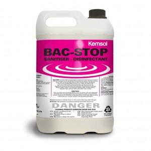 Kemsol Bac Stop SanitiserDisinfectant 5L