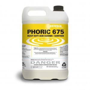 Kemsol Phoric 675 HD Acid Cleaner Sanitiser 5L