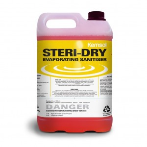 Kemsol Steri Dry Evaporating Sanitiser 5L
