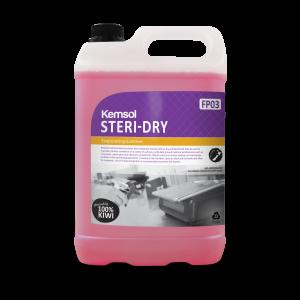 Kemsol Steri-Dry Sanitiser 5L DG3